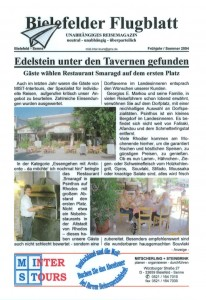 Bielefelder Flugblatt - Seite 1